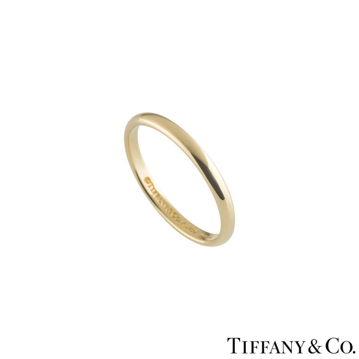 Tiffany & Co. Yellow Gold Wedding Band Ring